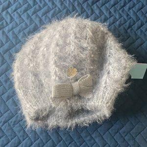 Betsy Johnson fuzzy wuzzy beret